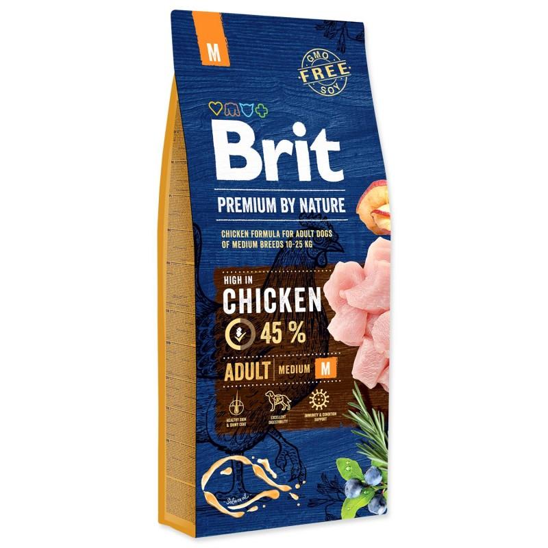 BRIT Dry Dog Premium BRIT Premium by Nature Adult M 15 kg