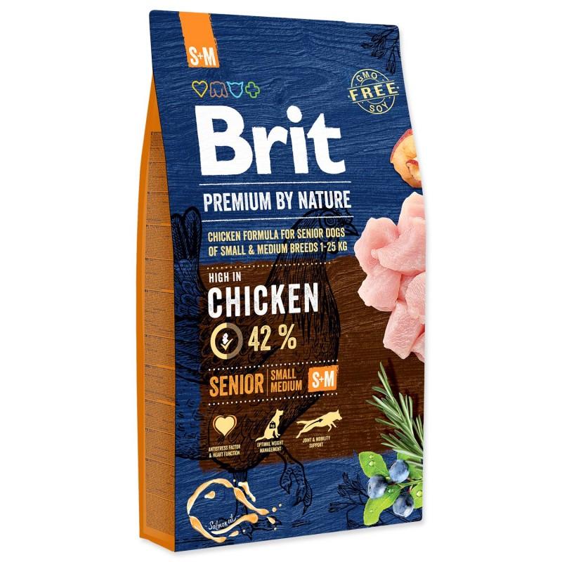 BRIT Dry Dog Premium BRIT Premium by Nature Senior S+M 8kg