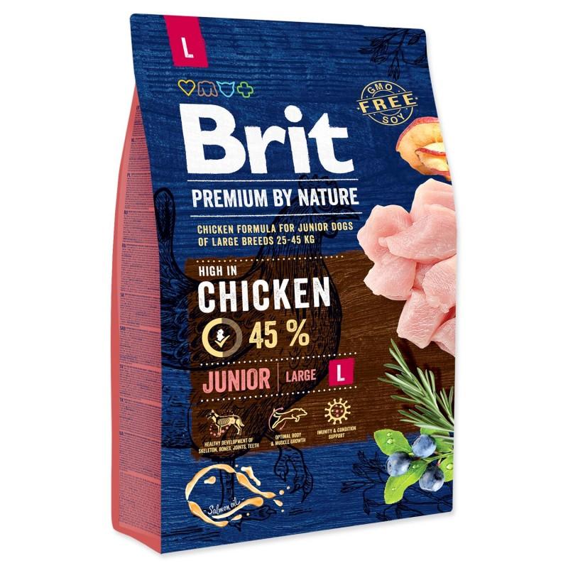 BRIT Dry Dog Premium BRIT Premium by Nature Junior L 3kg