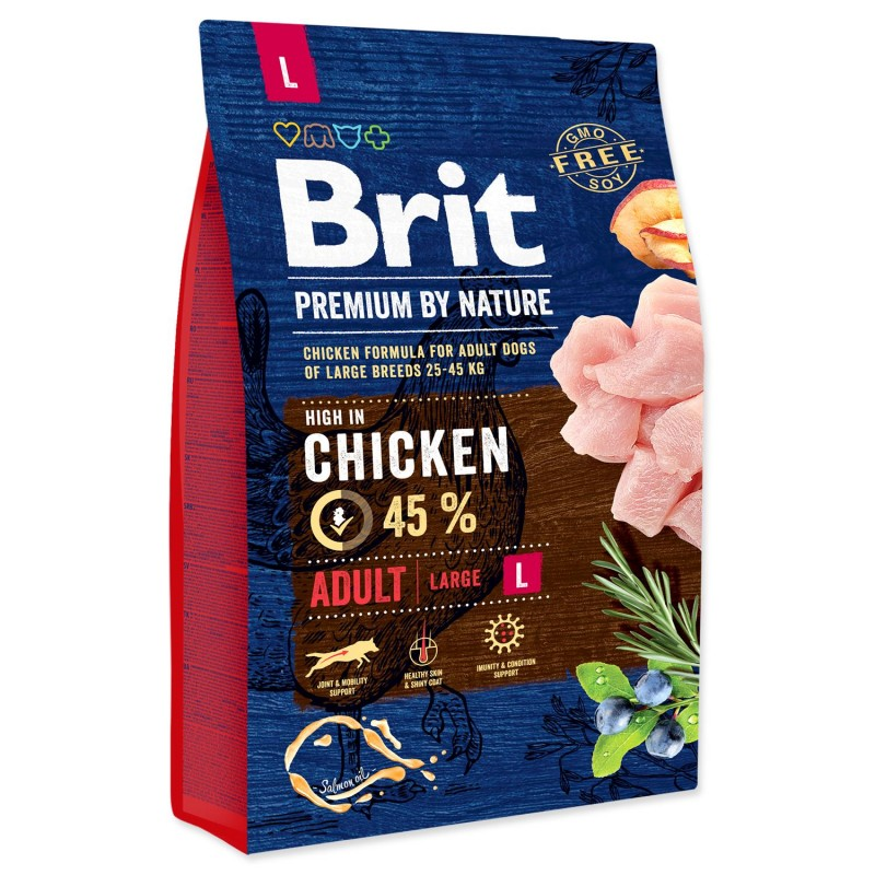 BRIT Dry Dog Premium BRIT Premium by Nature Adult L 3kg