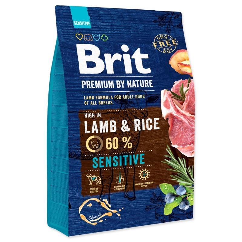BRIT Dry Dog Premium BRIT Premium by Nature Sensitive Lamb 3kg
