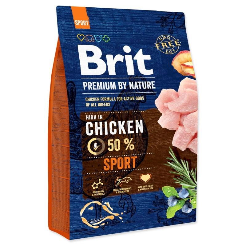 BRIT Dry Dog Premium BRIT Premium by Nature Sport 3kg