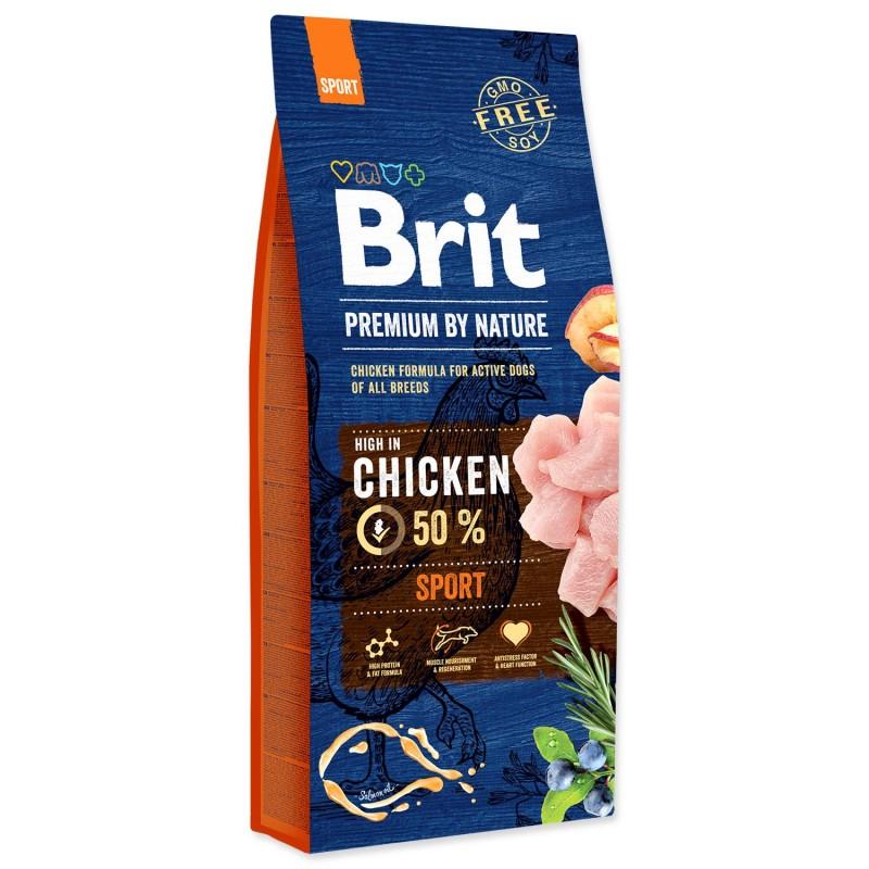 BRIT Dry Dog Premium BRIT Premium by Nature Sport 15kg