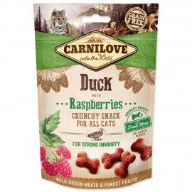 carnilove-cat-crunchy-snack-duck-with-raspberries-with-fresh-meat-50g