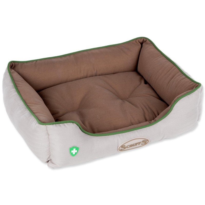 Scruffs Pelech SCRUFFS Insect Shield Box Bed hnědý 50 x 40 cm 1ks