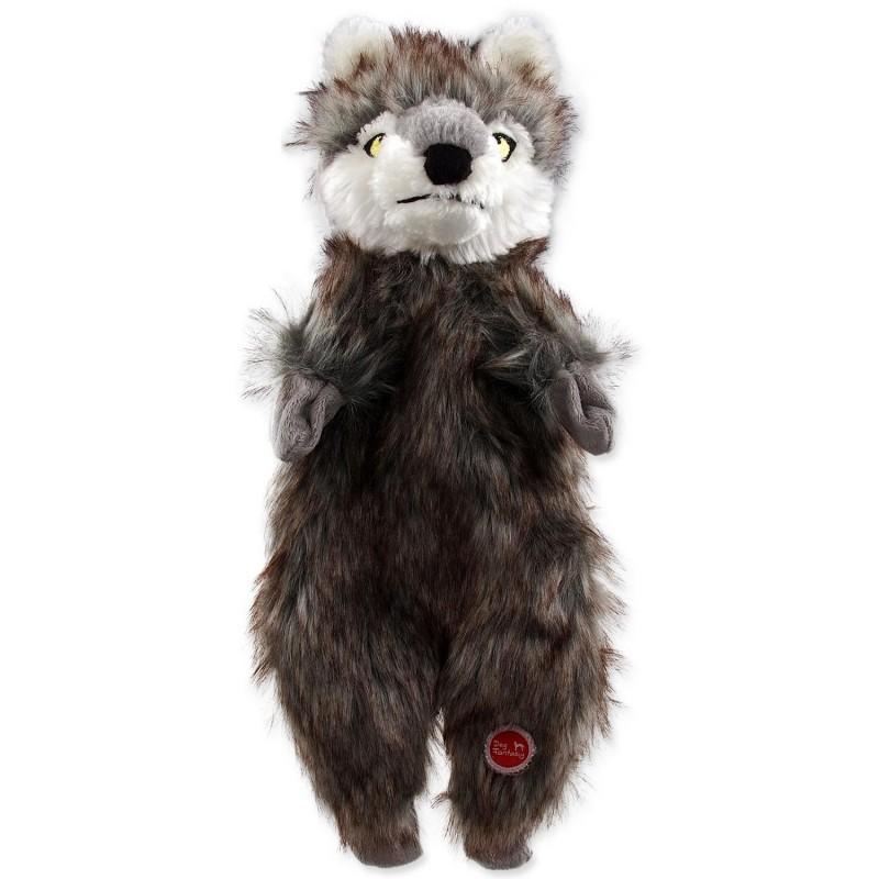 PLAČEK (GOOD) Hračka DOG FANTASY Skinneeez vlk plyšový 34 cm 1ks