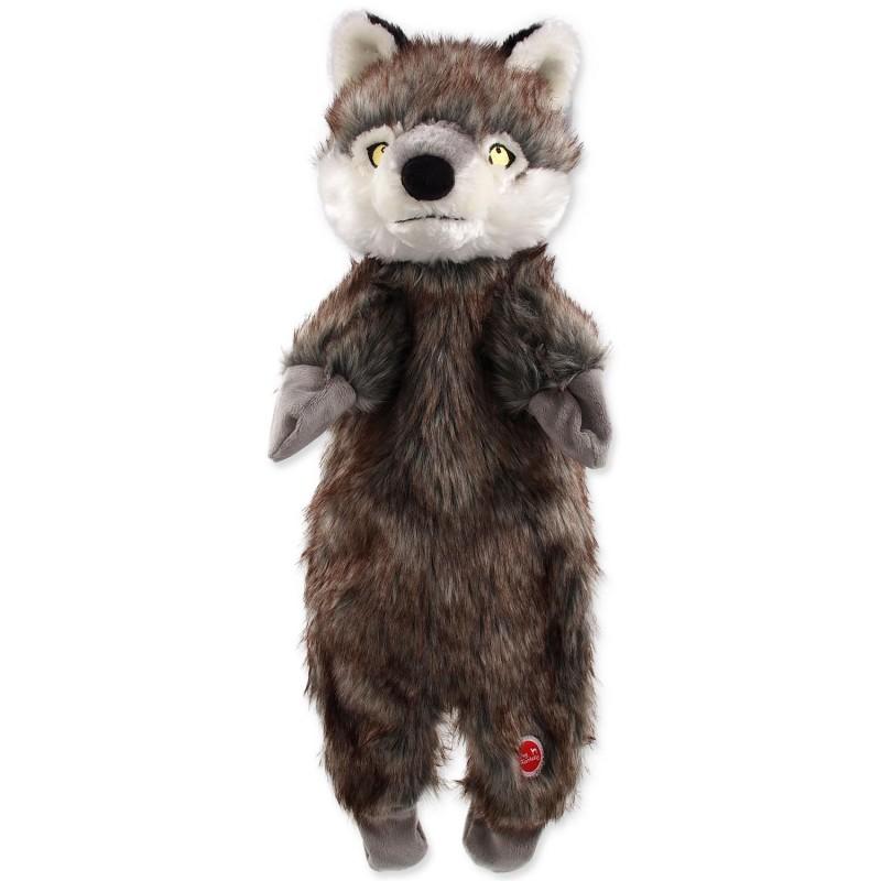PLAČEK (GOOD) Hračka DOG FANTASY Skinneeez vlk plyšový 50 cm 1ks