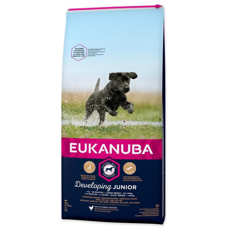 EUKANUBA - IAMS EUKANUBA Junior Large 15kg