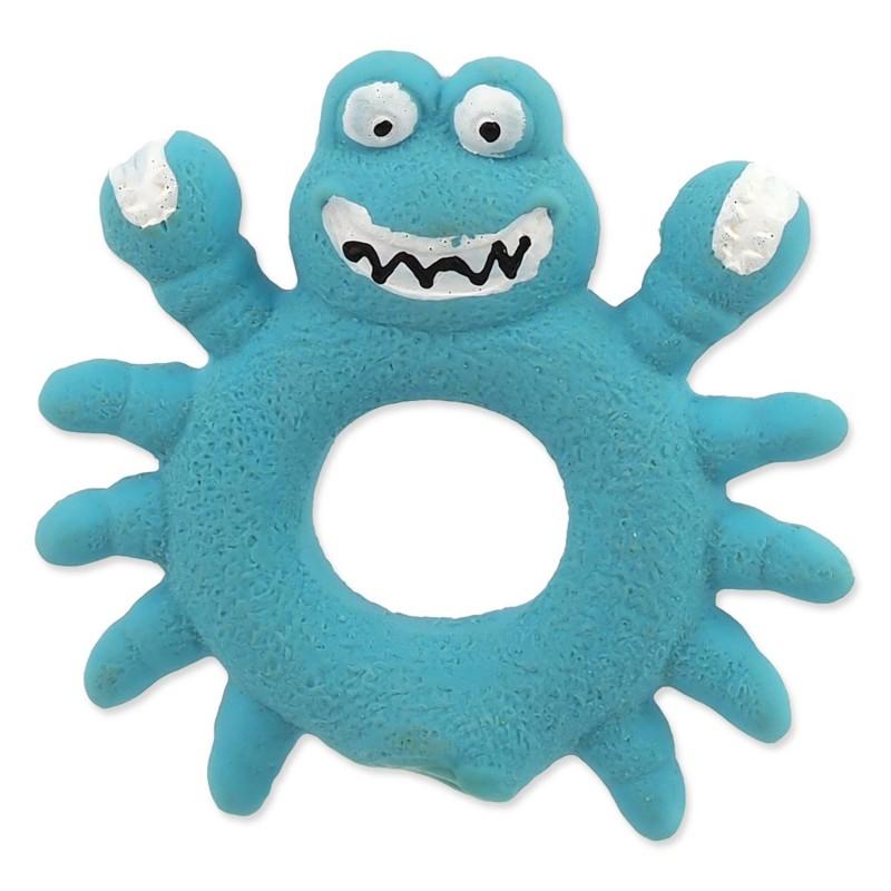 PLAČEK (GOOD) Hračka DOG FANTASY Latex Krab modrý se zvukem 10 cm 1ks