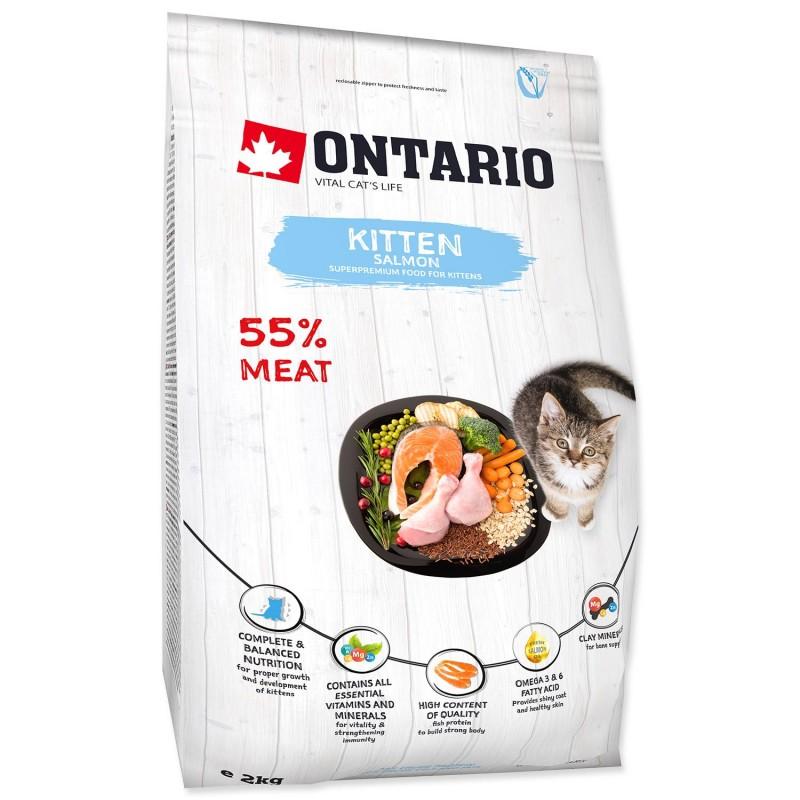 Ontario ONTARIO Kitten Salmon 2kg