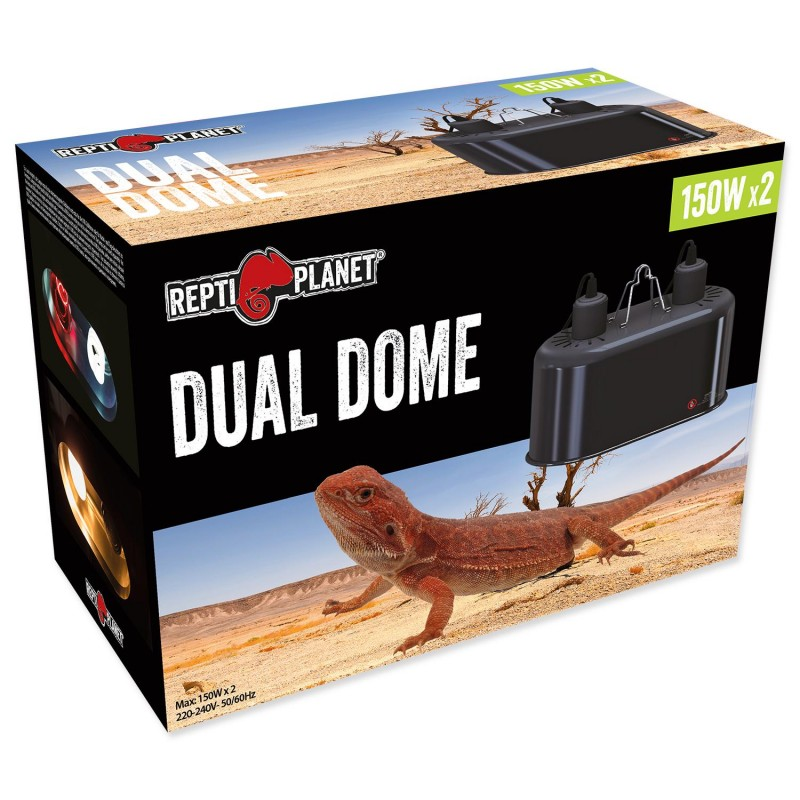 Repti Planet Osvětlení REPTI PLANET Dual Dome 2 x 150W 1ks