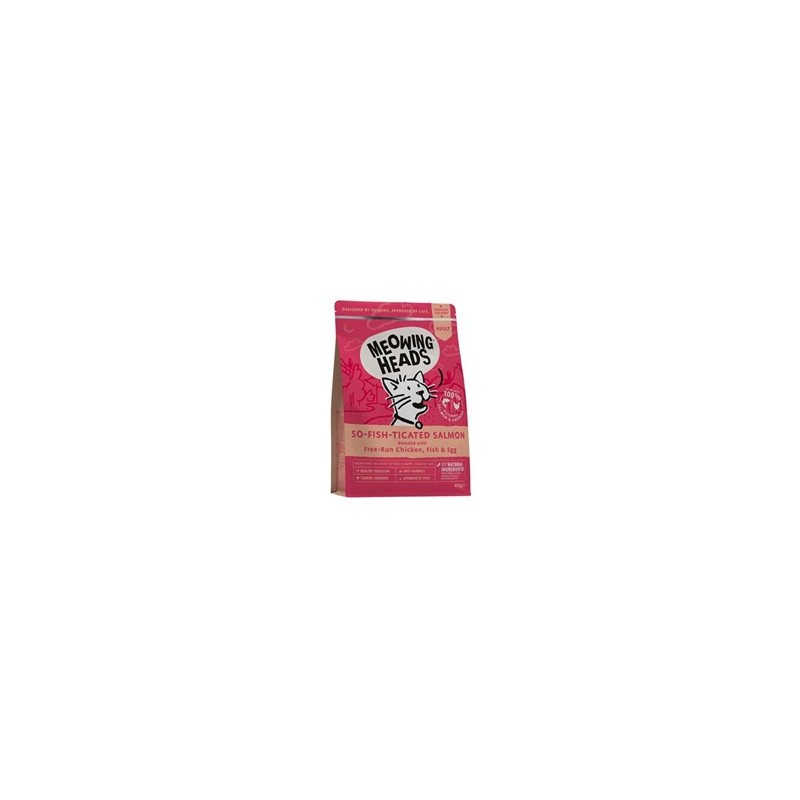 Meowing Heads MEOWING HEADS So-fish-ticated Salmon 450g