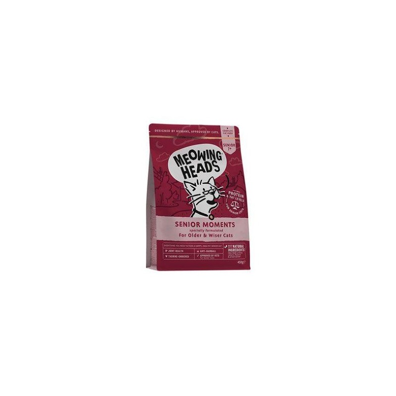 Meowing Heads MEOWING HEADS Senior Moments NEW 450g