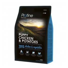 Profine NEW Dog Puppy Chicken & Potatoes 3 kg