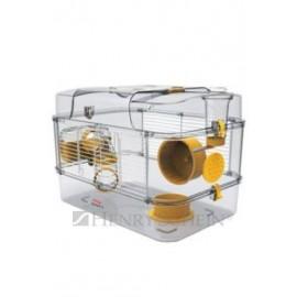 Klec křeček Rody 3 SOLO žlutá 41x27x28cm Zolux