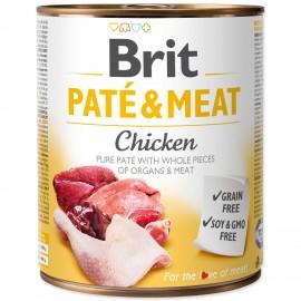 Konzerva BRIT Paté & Meat Chicken 800g