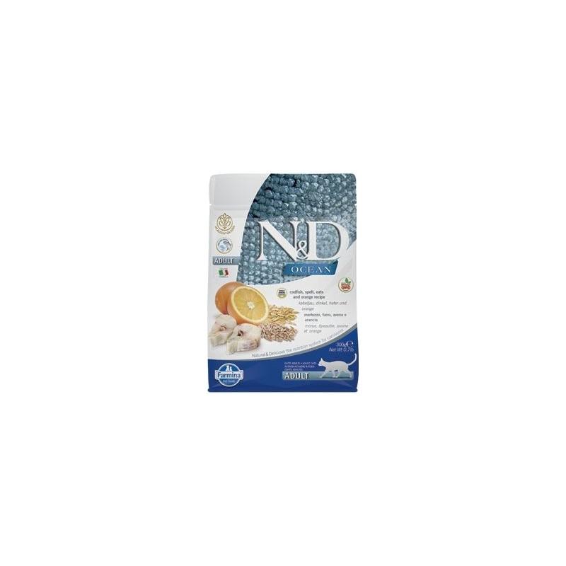 N&D (Farmina Pet Foods) N&D OCEAN CAT Adult Herring & Orange 1,5kg