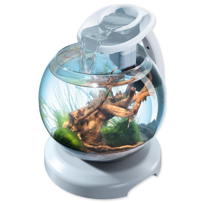 SPECTRUM akvaristika Akvárium set TETRA Globe Duo Waterfall bílé 6,8l