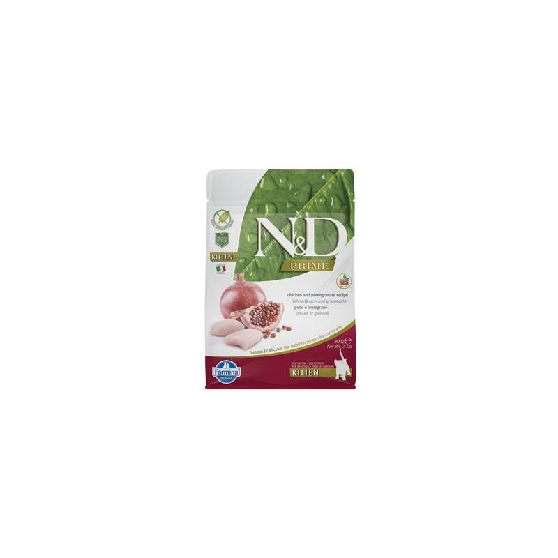 N&D (Farmina Pet Foods) N&D PRIME CAT KITTEN Chicken & Pomegranate 300g