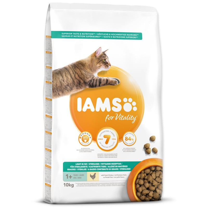 EUKANUBA - IAMS IAMS Cat Adult Weight Control Chicken 10kg