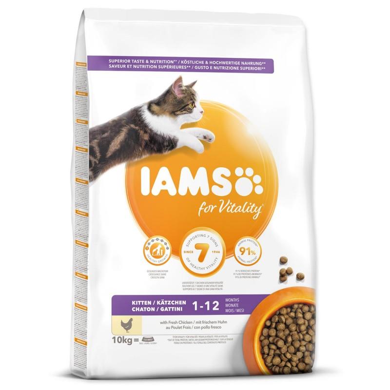 EUKANUBA - IAMS IAMS Cat Kitten Chicken 10kg