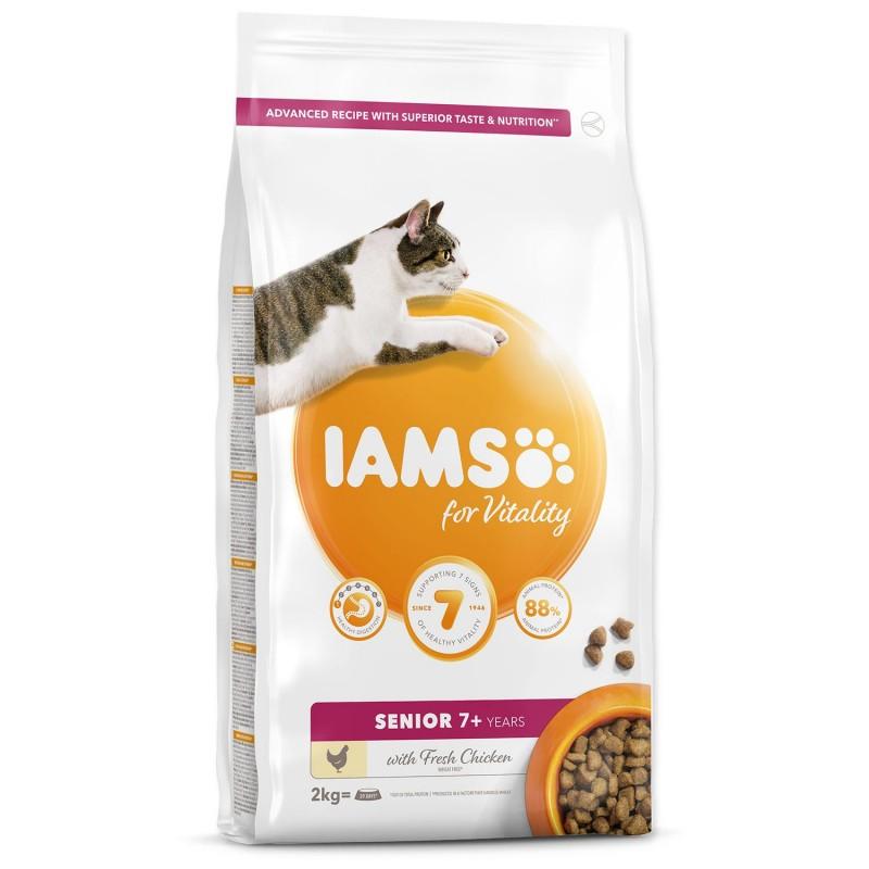 EUKANUBA - IAMS IAMS Cat Senior Chicken 2kg