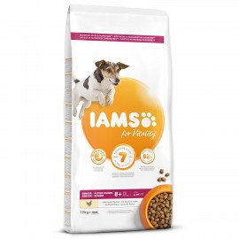 iams-dog-senior-small-medium-chicken-12kg