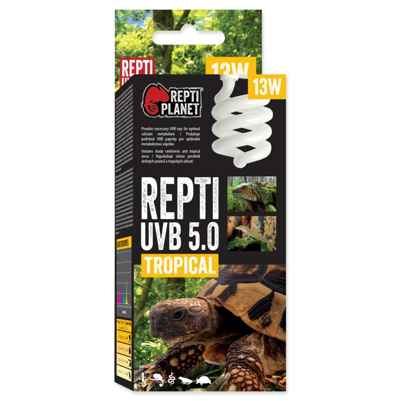 Repti Planet Žárovka REPTI PLANET Repti UVB 5.0 13W