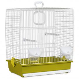 Klec BIRD JEWEL Klára bílo-zelená 1ks